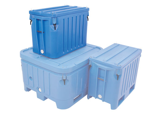 SAEPLAST DX310B CONTAINER W/LID 265L (7752)
