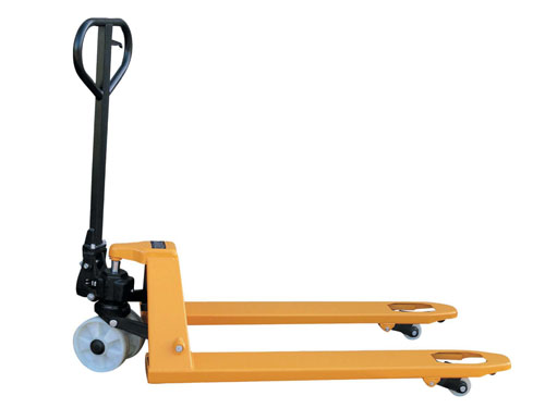 Pallet Truck 4-Way Polyurethane Wheels 2500kg