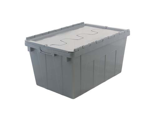 LOGX NESTABLE SECURI-CRATE 50L GREY (1290PP)