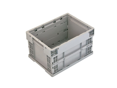 LOGISTICX FOLDING CRATE 19L GREY (1465)