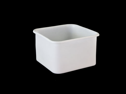 SQUARE BIN 35L NATURAL (2420PL)