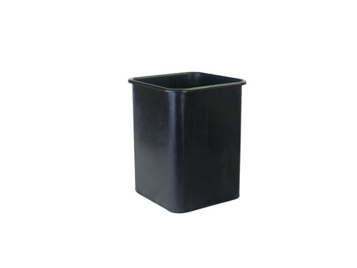 SQUARE BIN REGRIND 60L BLACK (2425RG)