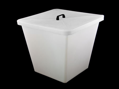 XIN Wool Bin Large (Trimmed) with Lid 180L