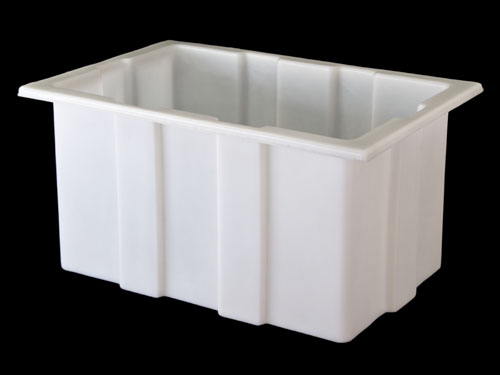 M81 TRANSIT TUB W/LID 238L NATURAL (2560PL)
