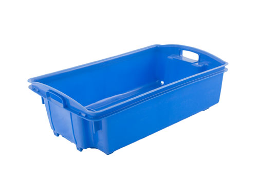 AP6 FISH CRATE WITH HOLES 35L BLUE (1170PH)