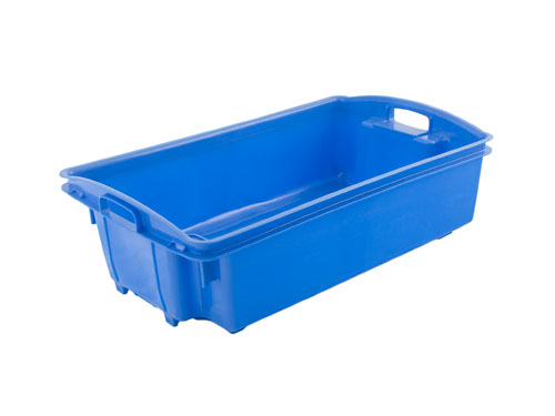 ZZZ AP6 FISH CRATE NO/HOLES 35L BLU (1172PH)