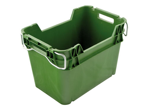PRODUCE CRATE VENTED 36L GREEN (1361PH)
