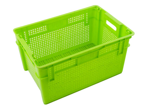 LOGISTICX VENTED CRATE 63L -BLUE (1449PH)
