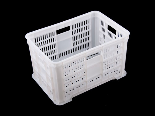 LOGISTICX VEGETABLE CRATE 45L WHT (1422)