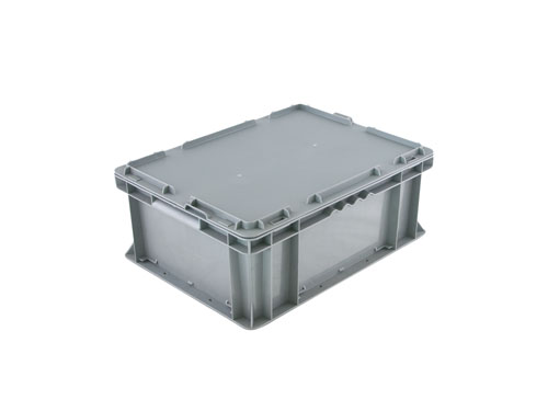 LOGISTICX BOLT BOX W/LID 10L GREY (1628)