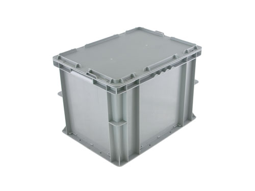 LOGISTICX BOLT BOX W/LID 20L GREY (1629)