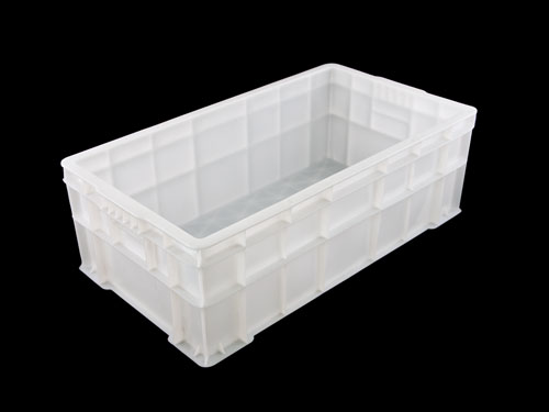 LOGISTICX STACKING CRATE 60L WHITE (1630)