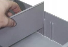 XIN Intermediate Spare Parts Tray With Two Dividers