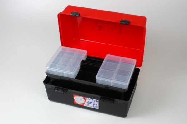 XIN Large Tool Box With Lift Out Tray