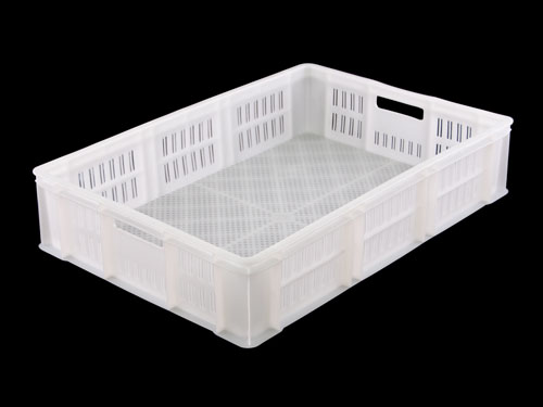 LOGX VENTED PASTRY TRAY 26L WHITE (1568)