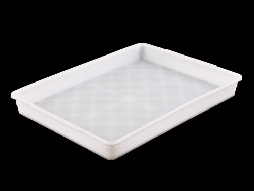LOGISTICX SOLID TRAY 9L NAT (1818)