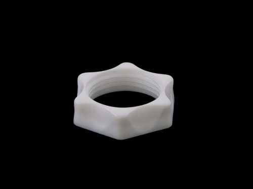 BACK NUT FOR BSP 3/4IN WHITE (4508)