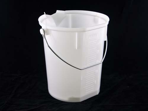 POURMAXX BUCKET W/ HANDLE 25L NAT (7077)
