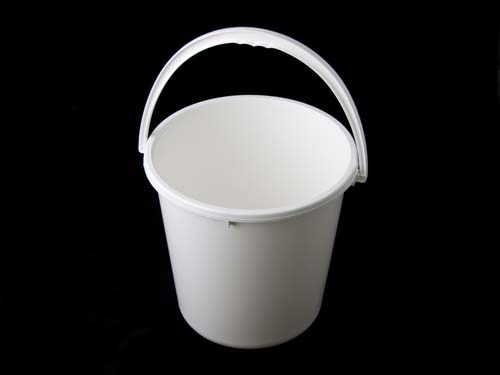 BUCKET W/ HANDLE 20L WHITE (7083)