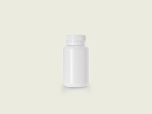 WM TABLET BOTTLE 51MM 385ML WHITE (5704)