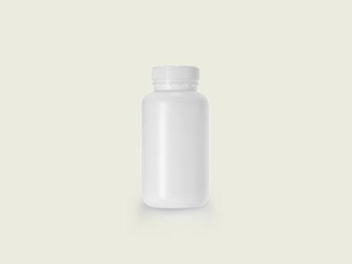 WM TABLET BOTTLE 51MM 500ML WHITE (5705)
