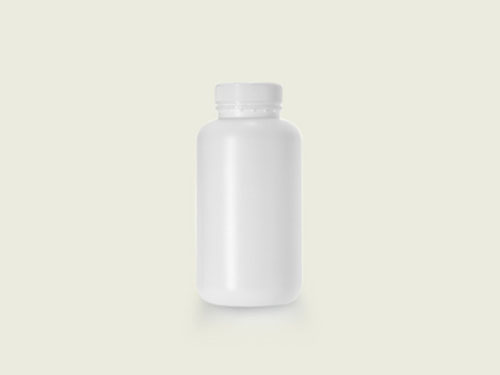 WM TABLET BOTTLE 51MM 750ML WHITE (5706)