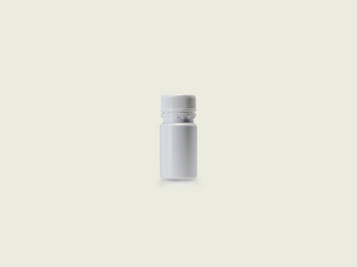 STD TABLET BOTTLE 28MM 35ML WHITE (5710)