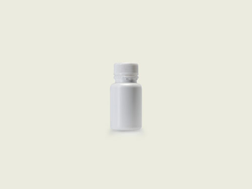 STD TABLET BOTTLE 28MM 60ML WHITE (5711)
