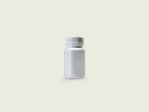 STD TABLET BOTTLE 36MM 90ML WHITE (5712)