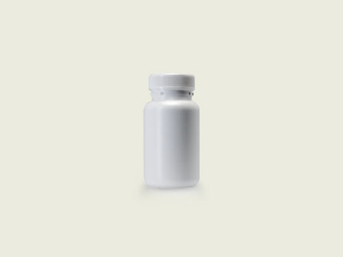 STD TABLET BOTTLE 36MM 125ML WHITE (5713)
