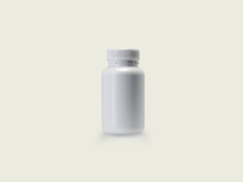 STD TABLET BOTTLE 40MM 185ML - WHITE (5714)