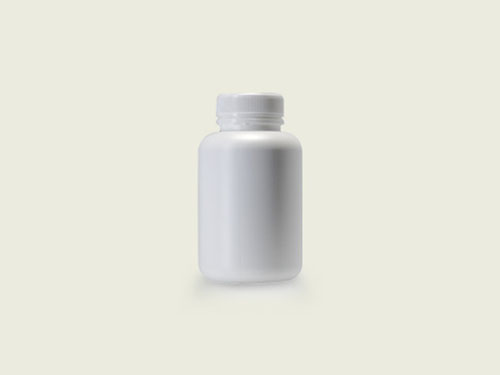 STD TABLET BOTTLE 40MM 275ML WHITE (5715)