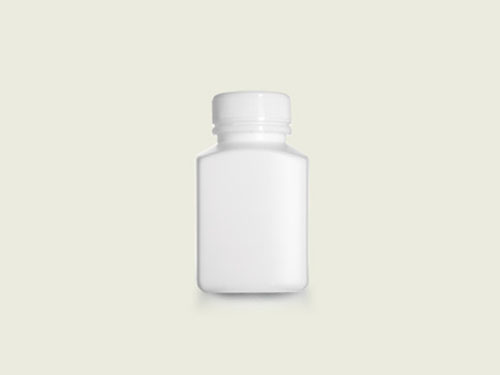 RECT TABLET BOTTLE 36MM 150ML WHT (5721)