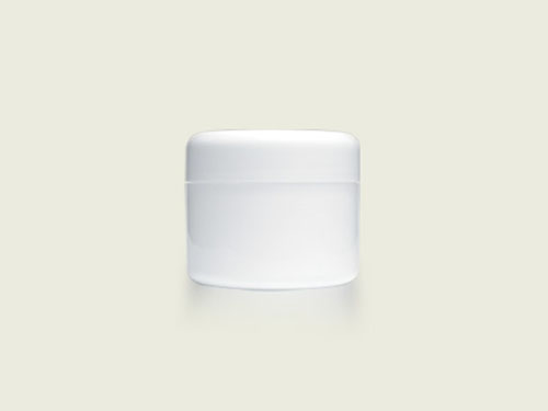COSMETIC POT 62ML WHITE (5742)