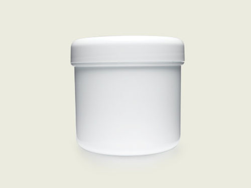 CHEMIST CREAM POT ONLY 300G WHT (5756)