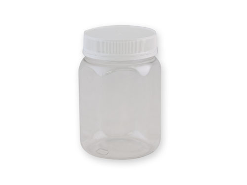 JAR T/TEL 750ML CLR HEX CTN AOKI (6359)