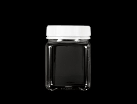 SQ PET JAR 83MM 806ML CLEAR (6360)