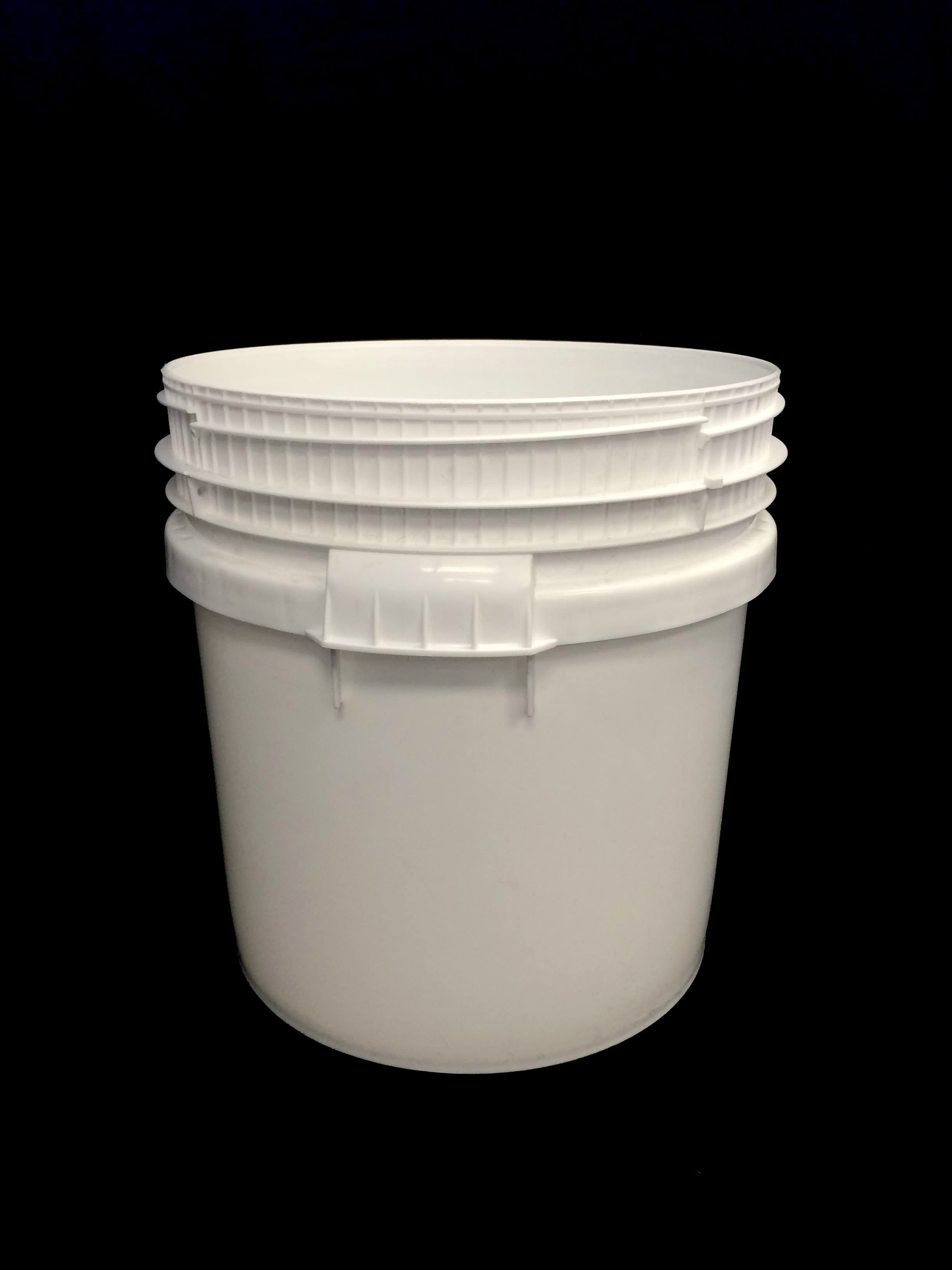 LOGX DG PAIL & T/E SCREW LID 30L -WHITE (6819)
