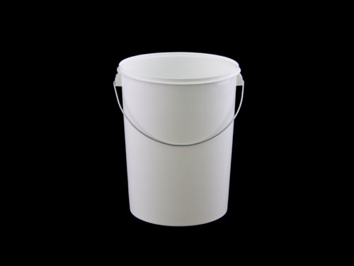 PAIL 5L WHT TAPERED (6845)