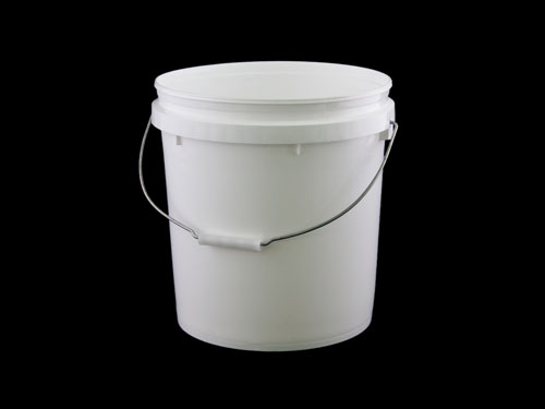 PAIL 15L WHT TAPERED (6862)