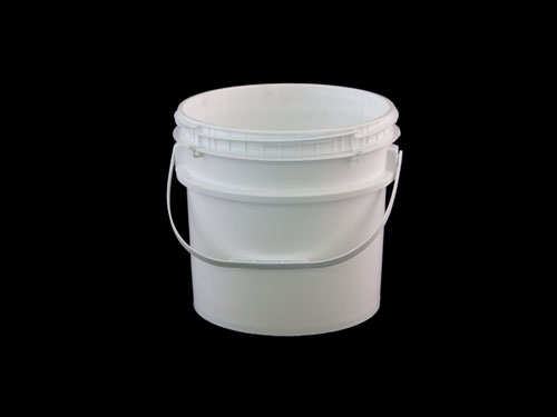 LOGX DG PAIL & T/E SCREW LID 10L WHITE (6911)