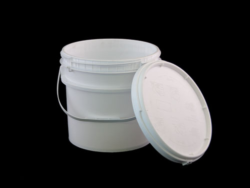 LogisticX Dura Pail 10L w/ Screw Lid By Side