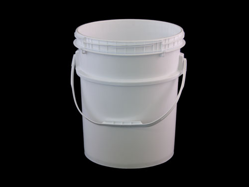 LOGX DG PAIL & T/E SCREW LID 20L WHITE (6912)